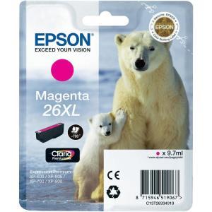 Ink Cartridge Singlepack Magenta 26xl Claria Premium Ink (c13t26334020)