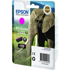 Ink Cartridge 24xl Elephant Magenta Rf+am