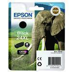Ink Cartridge 24xl Elephant Black Rf+am