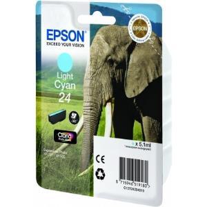 Ink Cartridge 24s Elephant Light Cyan Rf+am