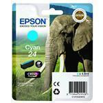 Ink Cartridge 24s Elephant Cyan Rf+am