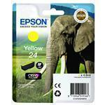 Ink Cartridge 24s Elephant Yellow Rf+am