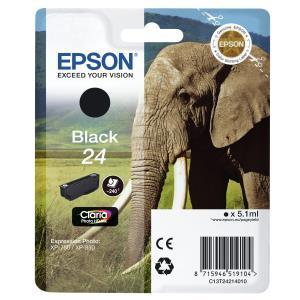 Ink Cartridge 24s Elephant Black Rf+am