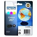 Ink Cartridge 267 3 Colour For Wf-100w Rf+am