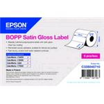 Bopp Satin Gloss Die-cut 76mmx51mm 2770 Lbls