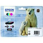 Ink Cartridge Multipack 4-colours 26 Easymail