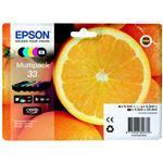 Ink Cartridge Multipack 5-colours 33 Claria Premiun Ink Easymail Pack