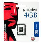 4GB Micro sdhc Class 4 Flash Card Single Pack Without Adapter