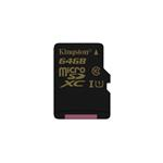 64GB Micro sdhc Class 10 (sdca10) Uhs-i Without Adapter
