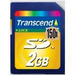 Transcend 2GB Secure Digital Card 150x (max Data Transfer Rate 22.5mb/sec)