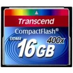 Transcend 16GB Compact Flash Cf Card 400x