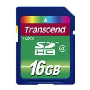 Transcend Sdhc 16GB Class 4