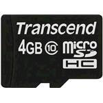 Transcend 4GB Micro sdhc (with Out Adapter) Class 10