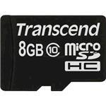 Transcend 8GB Micro sdhc (with Out Adapter) Class 10