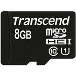 Transcend 8GB Micro sdhc Class 10 Uhs-1 With Adapter