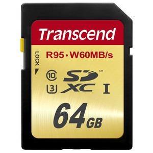 Transcend Sdxc 64GB Uhs-i Us