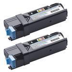 Toner Black High Capacity 3000p For 2150cn/2150cdn/2155cn/2155cdn 2pack (2x3000=6000p)