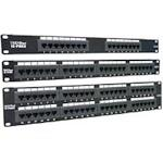 Patch Panel 24-port Cat6 Rj-45 Utp Rackmount