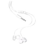 Earphones With Mic In-ear Wh-208 White