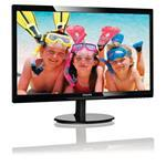 Monitor LCD 24in 246v5lhab LED Backlit Black