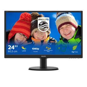 Monitor LCD 23.8in 240v5qdsb TFT Wide 1920x1080 Black