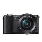 Mirrorless Camera Ilce-5000lb 20mpix Nfc Wi-Fi Sel-1650 Black