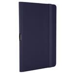 Kickstand Folio Protective Cover & Stand For Samsung Tab3 8in Blue