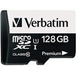 Premium U1 Microsdxc Card 128GB + Adapter