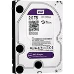 Hard Drive Desktop Surveillance Purple 3.5in SATA 2TB Retail Kit