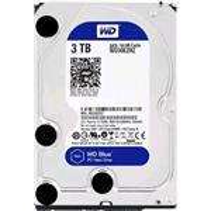 Hard Drive Blue 3TB 3.5in SATA 64gbs 3.5MB