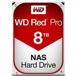 Nas Hdd Wd Red Pro 8TB 3.5in SATA 3 7200rpm 128MB Buffer (WD8001FFWX)