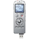 Digital Voice Recorder Icd-ux533 4GB Direct USB Mc Slot Mp3 Icd - Silver