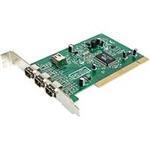 Firewire Card Ieee-1394 4-port PCI With Digital Video Editing Kit