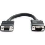 Coax High Resolution Vga Port Saver Cable - Hd15 M/f 6in