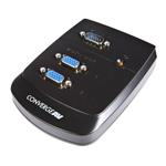 Converge A/v 2 Port Vga Video Splitter - Wall Mountable
