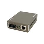Gigabit Ethernet Single-mode Fiber Media Converter - Sc 15km