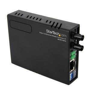 Media Converter 10/100 Multi Mode Fiber Copper Fast Ethernet St 2km