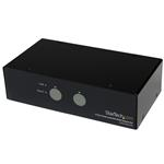 Dual Link DVI KVM Switch 2 Port Superspeed USB 3.0 With Audio And Cables
