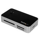 Card Reader With 2-port USB Hub & USB Fast Charge Port USB 3.0
