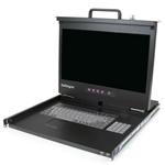 Rackmount LCD Console - 1u - 17in Screen - Us Keyboard - 1080p - Rkcons17hdeu