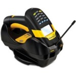 Powerscan M8300 Cordless Laser Scanner / 433 MHz Eu / Display/16 Keys / Removable Battery