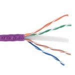 Powercat 6 Cable 500m Reel U/utp Ls0h 332.1 Violet