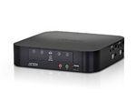 Mini Dport Dual View KVMp 4 Port USB 2.0