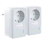 Powerline Adapter Nano - Ac Pass Through - Starter Kit - 2 Pack