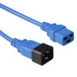 Power Extension Cable 230v C19 To C20 Blue (ak5093)