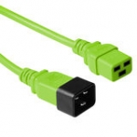 Power Extension Cable 230v C19 To C20 Green (ak5099)
