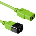Power Connection Cable 230v C13 To C14 Green 1.80m (ak5114)
