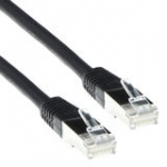 Cable Ftp Cat5e Black 5m