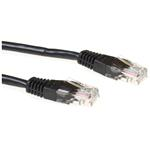 Cable Utp Cat5e Black 1m