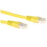 CAT6 Utp Lszh Patch Cable Yellow 3m